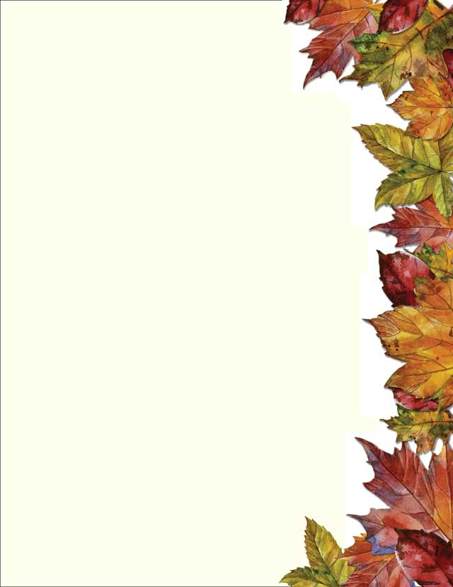 autumn leaves stationery 50 sheets donahue paper emporium